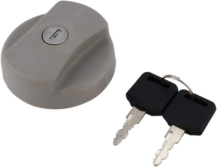 Automobili auto stile di alta qualit/à Parti esterne Riempimento Tappo serbatoio carburante Tappo benzina per Vauxhall Opel Coperchio serbatoio carburante Nero