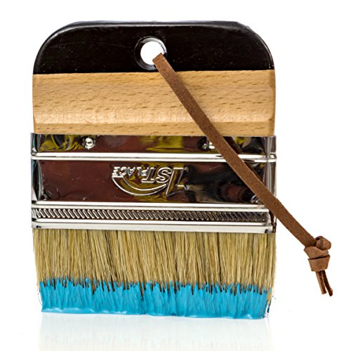 1st Place Products Paint & Wax Wide 4 Inch Pure Bristle Brush