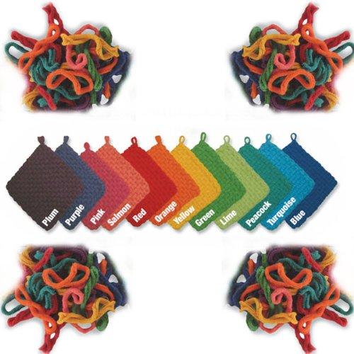 Harrisville Designs / Bag of Cotton Loops for Potholder Loom, Pink 55109