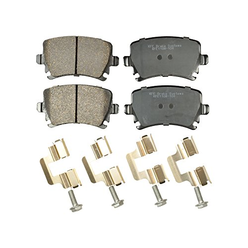 KFE Ultra Quiet Advanced KFE1108-104 Premium Ceramic REAR Brake Pad Set