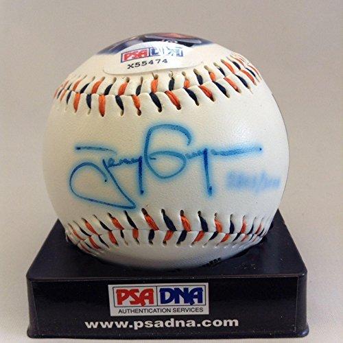 Tony Gwynn Autographed Baseball - 3000 Hit Commemorative COA - PSA/DNA Certified - Autographed (Tony Gwynn Autographed Baseball)