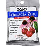 Zand HerbaLozenge Echinacea Zinc Natural Cherry – 15 Lozenges – Case of 12 For Sale