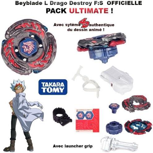 TOUPIE Beyblade L Drago OR DF105LRF Metal Masters Lanceur *Vendeur Francais*