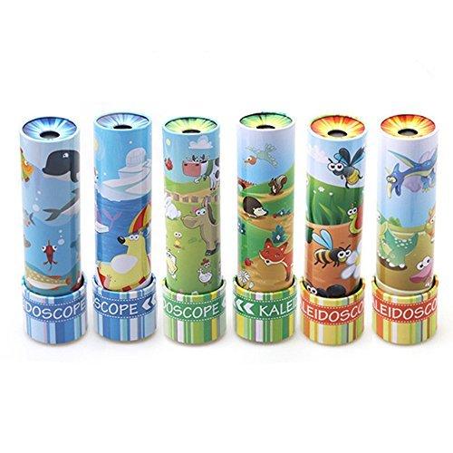 Classic Tin Kaleidoscope (Studyset Classic Children Toys Metal Tin Kaleidoscope Kids Toy (1PCS, Random Delivery))