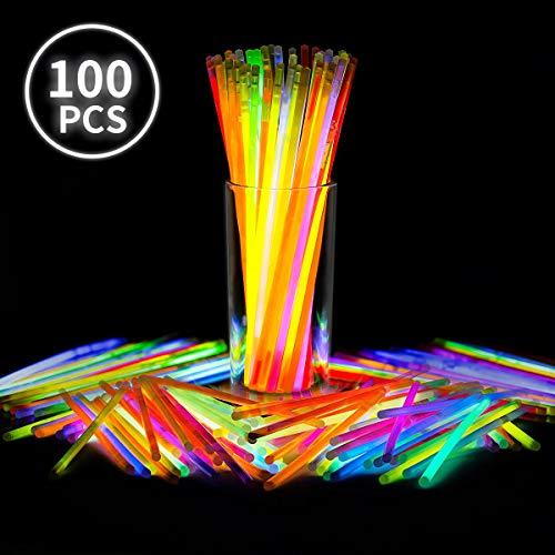 (Winkeyes Glow Sticks Bulk, 100 8