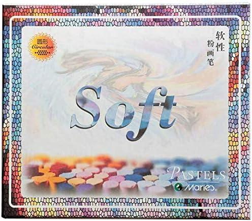amp-artshop© 50 Soft Pastellkreiden Set C Warmtöne & Kalttöne chinesische Kreiden