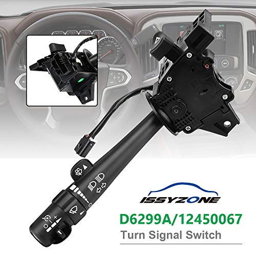 (Silverado Turn Signal Switch D6299A Trailblazer Headlight Dimmer Switch, 12450067 SW3792)