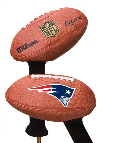 New England Patriots Football Head Cover, Outdoor Stuffs