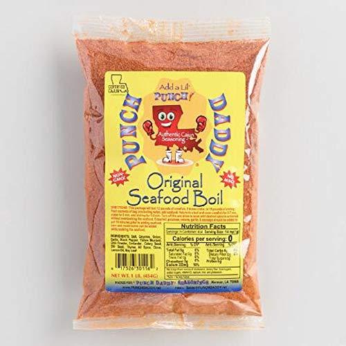 Punch Daddy Seafood Boil, Original Blend - 1 Pound