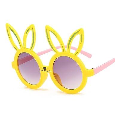Wang-RX Forma de conejo lindo Flexible para niños Gafas de ...
