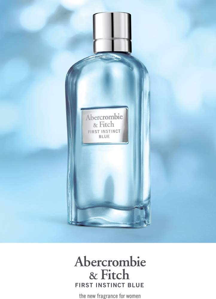Abercrombie & Fitch First Instinct Blue For Women Eau de Parfum, 50 ml:  Amazon.co.uk: Luxury Beauty