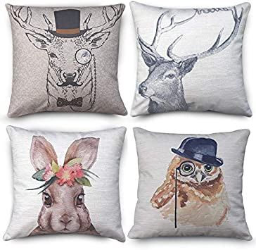 Simple Words Throw Pillow Case Cover Zippered Bed Sofa Pack Cushion Home Decor