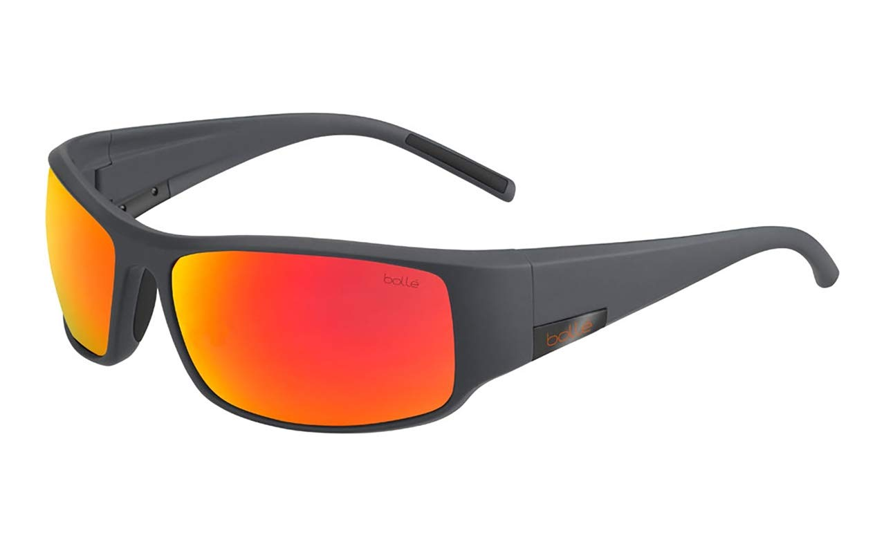 ea9aedb88e Amazon.com  Bollé King Sunglasses Matte Cool Gray Large Unisex  Sports    Outdoors