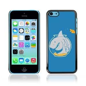 MMZ DIY PHONE CASEYOYOSHOP [Goldfish & Shark] Apple iphone 6 plus 5.5 inch Case