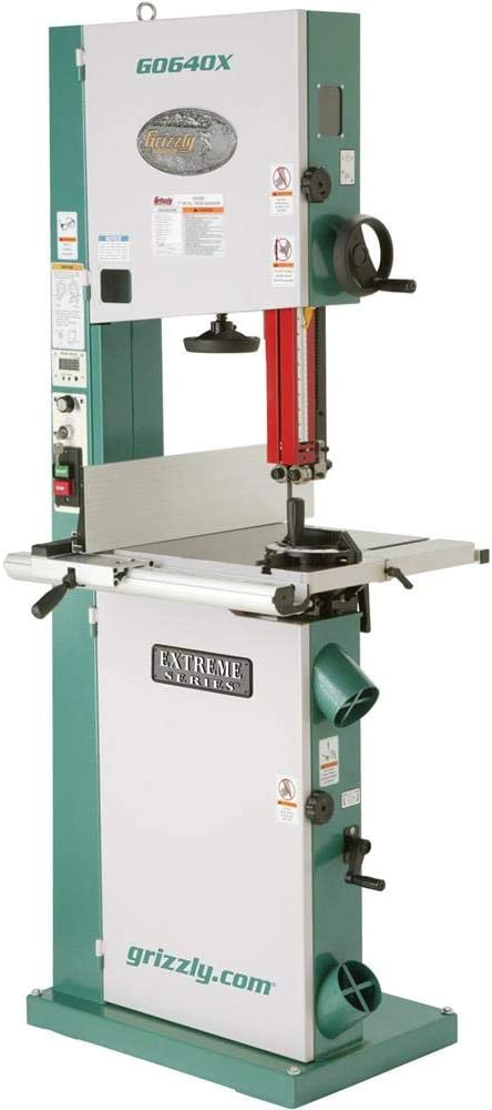 """Grizzly Industrial G0640X - 17"""" 2 HP Metal/Wood Bandsaw"""