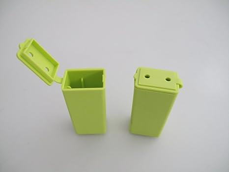 TUPPERWARE Cepillo de Dientes (2) Cubierta Protector verde