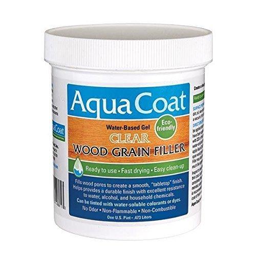Aqua Coat Clear Wood Grain Filler Pt. by Aqua Coat by Aqua Coat