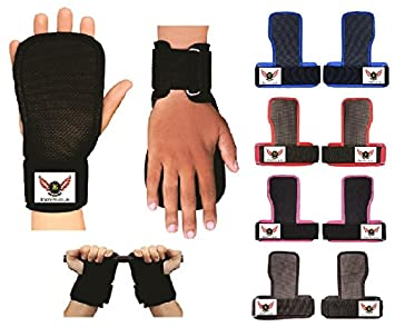 Wrist Wraps Weight Lifting Training Gym Lifting Straps Pro Support Grips Gloves