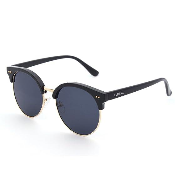ELITERA 2016 gafas de sol del ojo de gato de lujo del diseñador de moda para  las mujeres E073 (Negro Gris)  Amazon.es  Ropa y accesorios eb14c95f0f8a