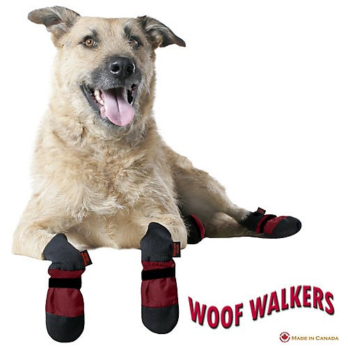 Muttluks Woof Walkers Burgundy Dog Boots XX-Small by Muttluks