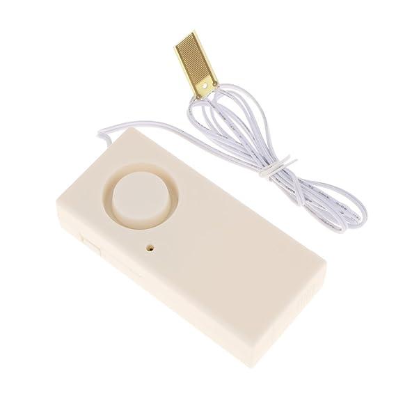 PETSOLA Detector Casero Del Sensor De La Salida Del Escape Del Agua, Baño De La Alarma De La Alarma De Los Sonidos Elegantes/Cocina: Amazon.es: Bricolaje y ...