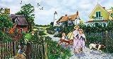Rose Cottage Lane a 500-Piece Jigsaw Puzzle by Sunsout Inc.
