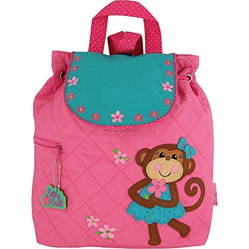 Stephen Joseph Quilted Backpack (Monkey - - Stephen Zoo Joseph