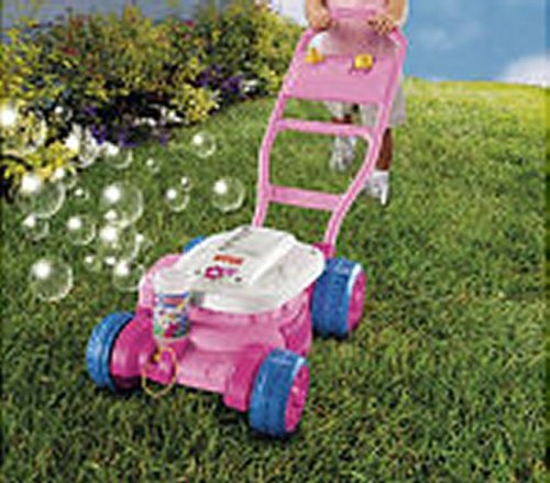 Fisher Price Bubble Mower Pink Toy Construction Tools Amazon