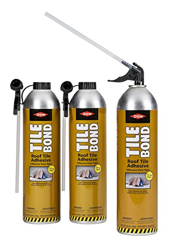Great Stuff TILEBOND Roof Adhesive, 28 oz. with Reusable Straw