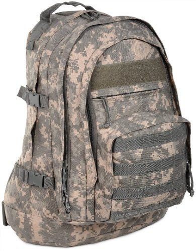 Sandpiper of California Three Day Pass Backpack (ACU Camo, 20x14.5x8.5-Inch) by Sandpiper of California