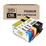 CMCMCM Remanufactured Ink Cartridges for 902XL 902 XL Work for OfficeJet Pro 6978 6962 6968 6975 6960 6970 6950 6954 6979 6951 Printer ( Black, Cyan, Yellow, Magenta )