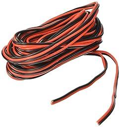 20ga 25\' Red/Black Hookup Wire 12V DC
