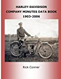 img - for Harley-Davidson Company Minutes Data Book 1903-2006 book / textbook / text book