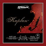 D'Addario Kaplan Viola Single A String, Long Scale, Medium Tension