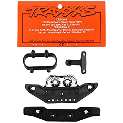 Traxxas 7235 Front and Rear Bumpers and Mounts, 1/16 Summit: Toys & Games