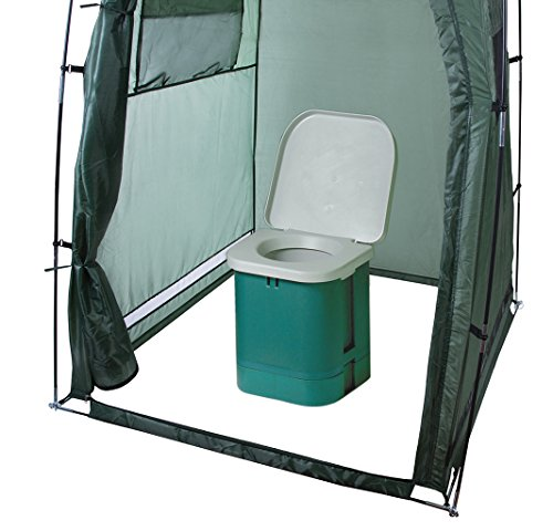 Stansport 273-100 Portable Camp Toilet (14 x 14 x 14 - Inch) by Stansport (Image #3)
