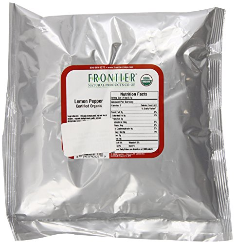 Frontier Lemon Pepper Certified Organic, 16 Ounce Bag by Frontier (Image #2)