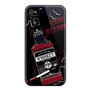 Protector Hard Phone Case For Iphone 4/4s (YHV6002pUwI) Support Personal Customs High Resolution Asking Alexandria Band Pictures