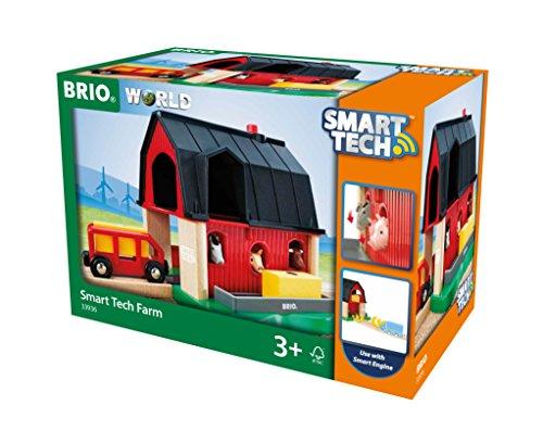 - Brio World - Smart Tech Railway - Farm Barn