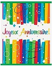 Unique Party - Articles de Fête Joyeux Anniversaire Kit