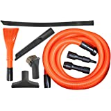 Cen-Tec Systems 92344 Deluxe Garage Attachment Kit for Wet Dry Vacuums, 8 Piece