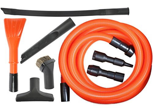Deluxe Garage Kit - Cen-Tec Systems 92344 Deluxe Garage Attachment Kit for Wet Dry Vacuums 8 Piece