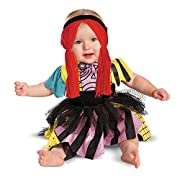 Disney Disguise Baby Girl's Sally Prestige Costume, Pink/Yellow/Black/Red, 6-12 Months