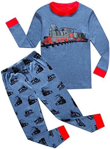 IF Pajamas Little Boys Sleepwears Set Pajamas 100% Cotton Clothes Toddler Kid