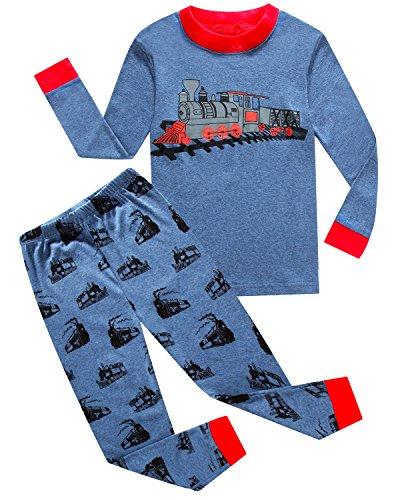 IF-Pajamas-Little-Boys-Sleepwears-Set-Pajamas-100-Cotton-Clothes-Toddler-Kid