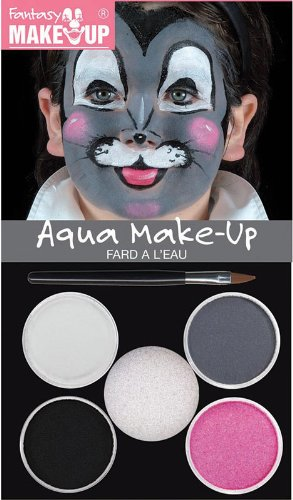 Home & Leisure Online Water Based Mouse Make Up Kit Animal Rodent Face Paint Set Halloween Fancy Dress