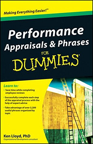 Performance Appraisals and Phrases For Dummies Ken Lloyd