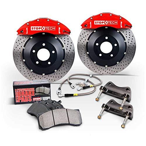 StopTech 83.524.6700.63 Big Brake Kit 2 Piece Rotor, Front 2 Box