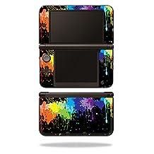 MightySkins Protective Vinyl Skin Decal Cover for Nintendo 3DS XL Original (2012-2014 Models) Sticker Wrap Skins Splatter