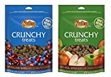 Nutro All Natural Crunchy Training Treats For Dogs 2 Flavor Variety Bundle: (1) Mixed Berries, and (1) Apple, 16 Oz. Ea. (2 Bags Total) Review